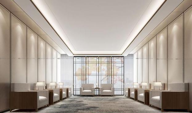 金融办公楼设计方案效果图