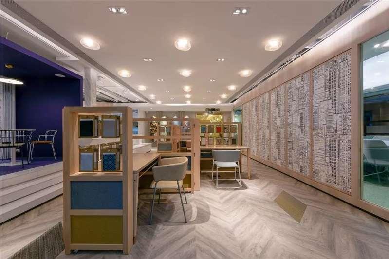 机场写字楼装修设计方案效果图