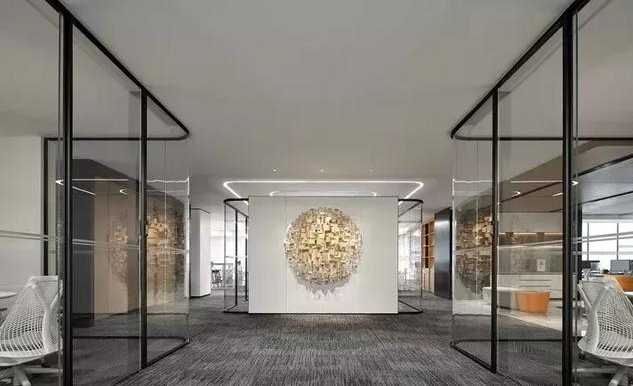 国际办公空间设计效果图