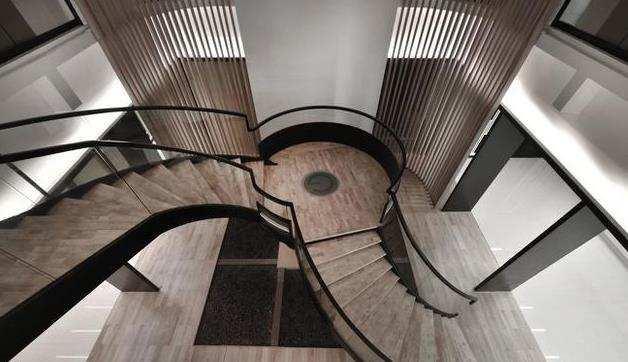 楼梯实景图
