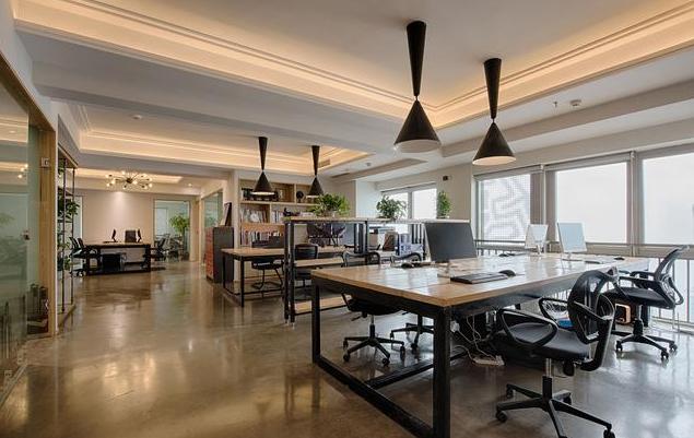 日式风格办公室装修效果图