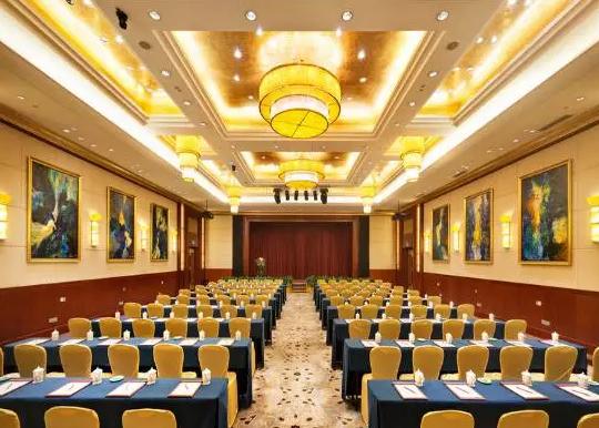 中式会议室装修风格