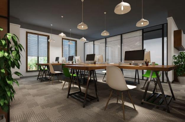 200平办公室装修设计图片