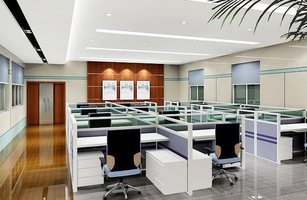 500平方米办公室装修图