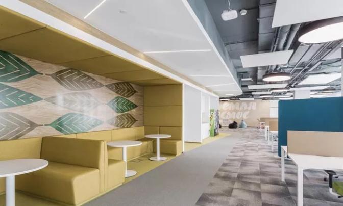 1000平方米办公室设计图