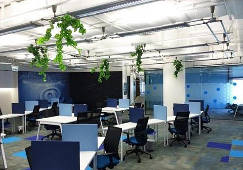 1600平方米办公室设计图片