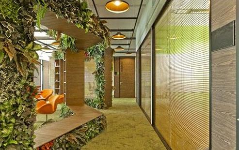 1600平方米办公室装修图片
