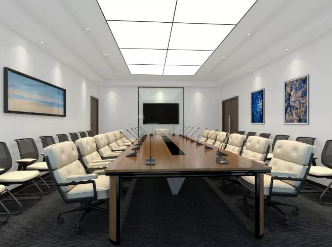多媒体会议室装修图片