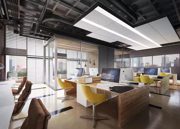 小面积办公室装修效果图